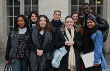 Photo groupe chercheurs d'emploi
