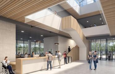 visuel Nouveau Hall d'accueil
