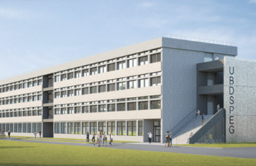visuel 1 vue projetée du bâtiment Université de Bordeaux