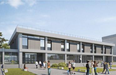 visuel 2 vue projetée du bâtiment Université de Bordeaux